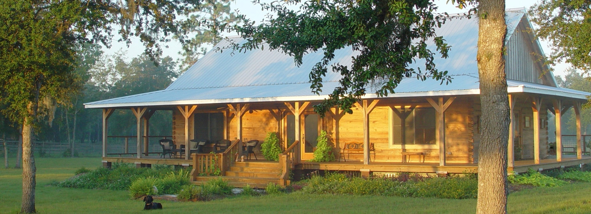 About Log Cabin Staining in Arkansas