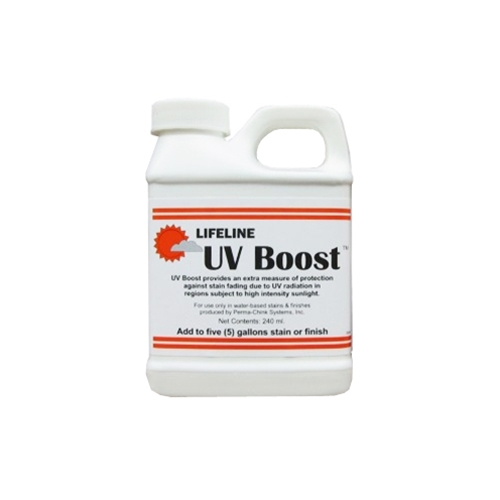 UV Boost log home protection