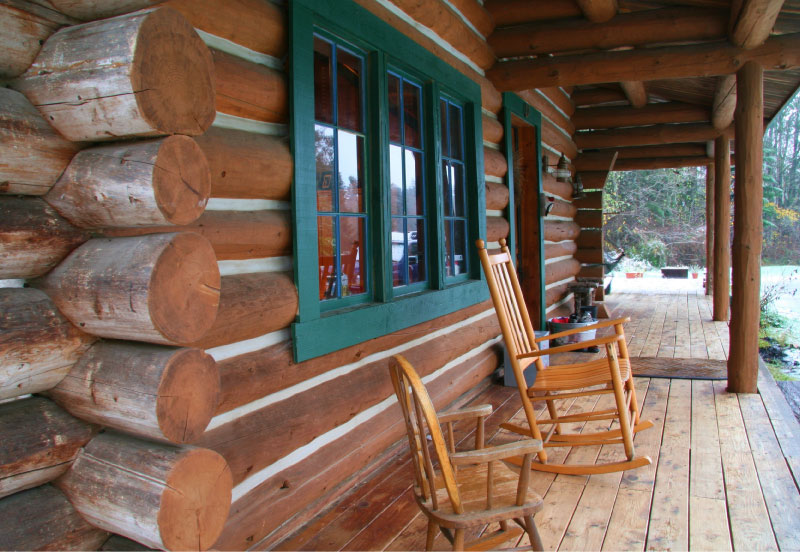 log home restoration and repair