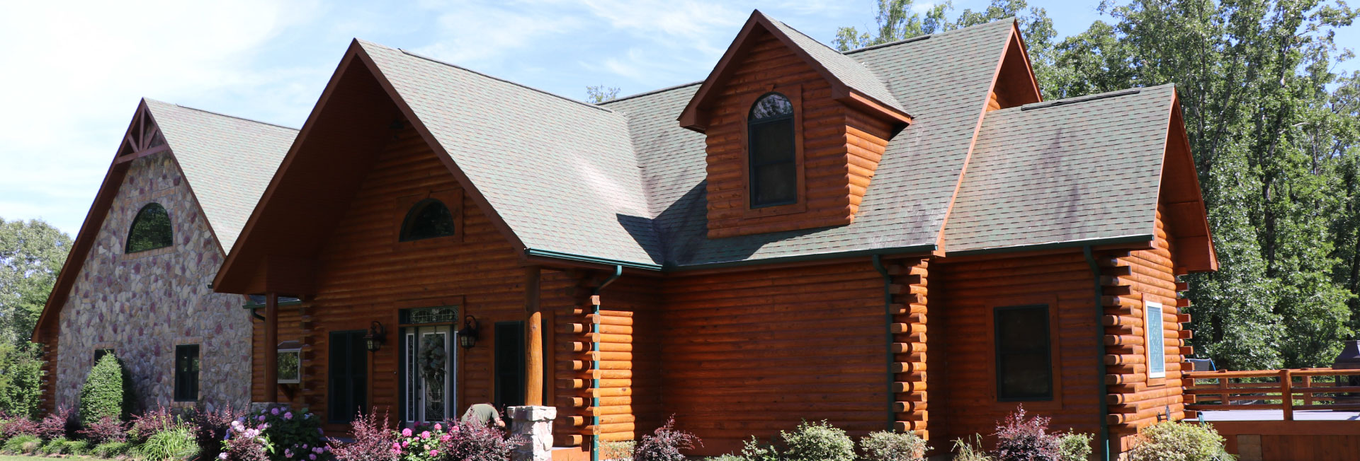 log home repair contractors